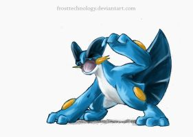 Swampert by FrostTechnology
