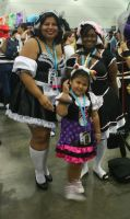 AX12-Maid Family by moonymonster