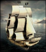 Captain Leeland's Pirate Ship by didi-mc