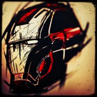iron man mark 8 helmet by artdan24