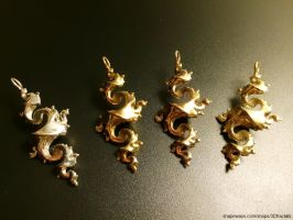 Dragon pendant collection by bib993