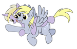 Derpy and Dinky Doo (v1) by tehflah