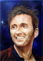 + Airbrushing - David Tennant + by Michael-Richter