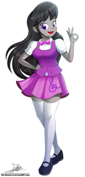 .:Octavia Melody - EQG Style:. (Commission) by The-Butcher-X