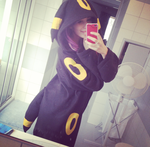 Umbreon Kigurumi by SailorPhoenixx