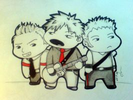 Green Day -Chibi- by Susutastic