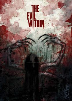 The Evil Within - Spider Boss by osvaldoVSARTS