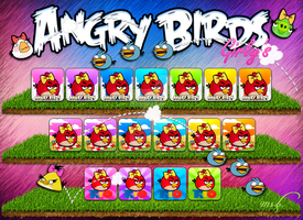 Angry Birds Girly's by Msbermudez