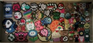Some of my perler stuff by ninick-the-demon