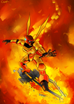 Master of Fire by quertare