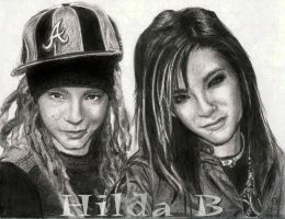 Tom and Bill Kaulitz by Hil-Billy