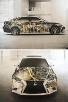 Lexus IS Design Contest by Bibire