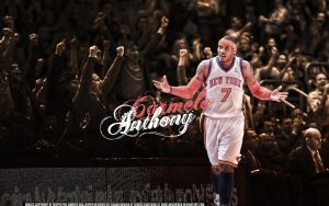Carmelo Anthony Wallpaper by IshaanMishra