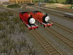 Sodor Island 3D James Update by BramGroatonDA
