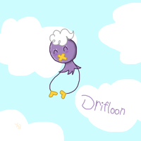 Drifloon by Helkie-three