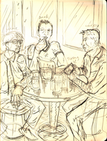 the bar sketch by erspears