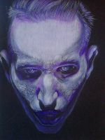 Marilyn Manson Born villain by MrsGeorgiana