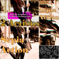 Action Sepia + 3D sepia by Itzeditions