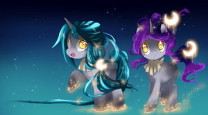Space Siblings by MagicaITrevor