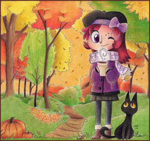 Autumn Canopy by Phoelion
