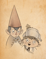 Over the Garden Wall by Natesquatch