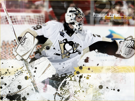 Marc Andre Fleury by Deshi-Graphics