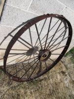 old wagon wheel by kthehobbit