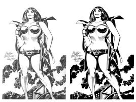 Big Barda by The King by JoshTempleton