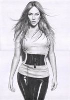 Jennifer Lopez by Delichon
