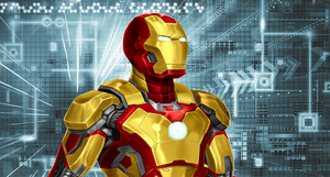 Iron Man by Ycajal