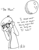 30 Day Challenge - The Moon by melissaduck