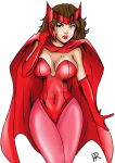 Commission - Scarlet Witch by HardRed