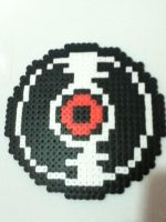 -Perler- Dave's Record by OtakuLuka