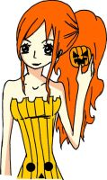 Nami Halloween by kaze-clan