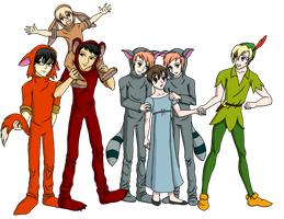 Ouran High School Lost Boys by DarthJader11
