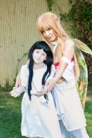 Asuna and Yui Sword Art Online Cosplay by firecloak