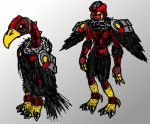 Transformer Vulture: Carrion by Fishbug