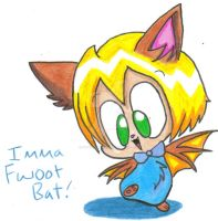 imma fwoot bat by puppetstringz