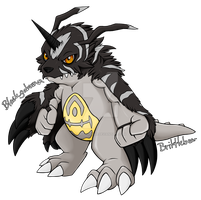 Blackgabumon by Brittlebear