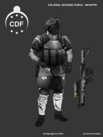 Takamo Universe: CDF Infantry by FutureFavorite