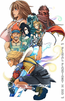 FINAL FANTASY X HD Illustration by Kanokawa
