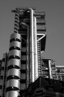 London 2 - Lloyds Building 1 by umboody