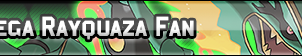 Mega Rayquaza Fan Button by GeneralGibby