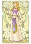 Zelda - Mucha Style by Val-eithel