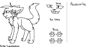 Free To Use Adopt or Ref sheet by TundraKittyArtist