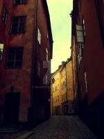 Old town, Stockholm II by Maionara