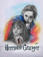 Hermione Granger by karlyilustraciones