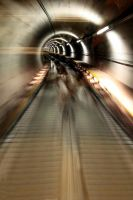 Escalating Tunnel by BeauNestor