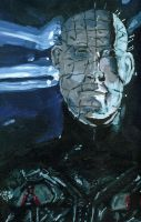 Pinhead Painting by clive-barker-club