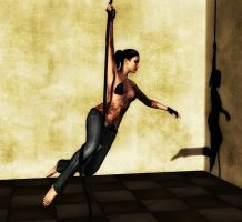The Dancer - Rope Pose 2 by Afina79